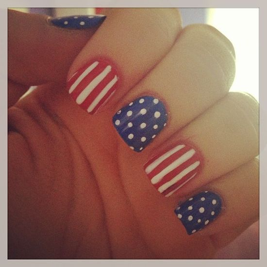 enb300's festive tips. Show us your 4th of July-inspired nails! Tag your pic #SephoraNailspotting to be featured on our social sites.