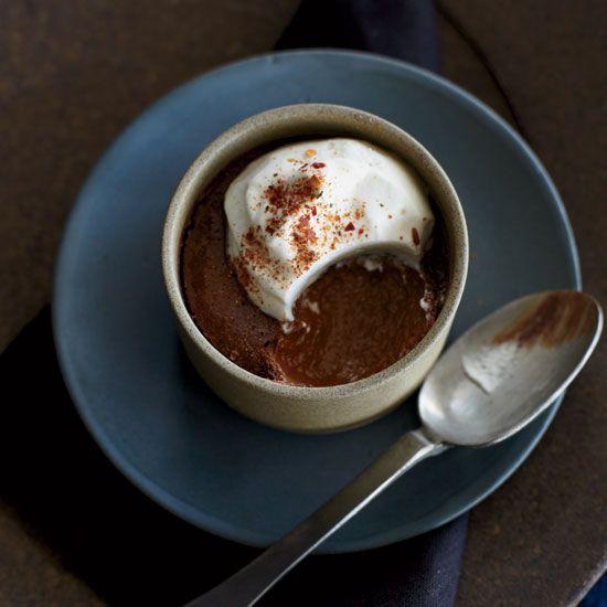 Mayan Chocolate Pudding // More Tasty Puddings: www.foodandwine.c... #foodandwine