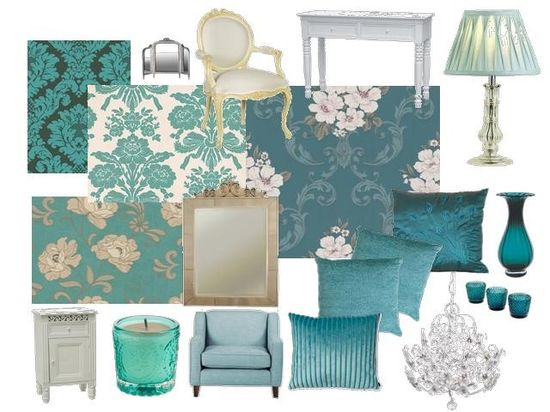 brown and teal bedroom decor ideas