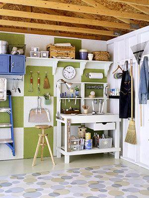 decorative organizing