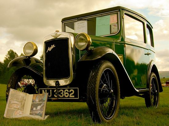 1934 Austin 7 classic car