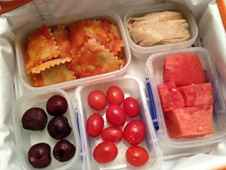 Lunch box ideas from The Full Plate blog