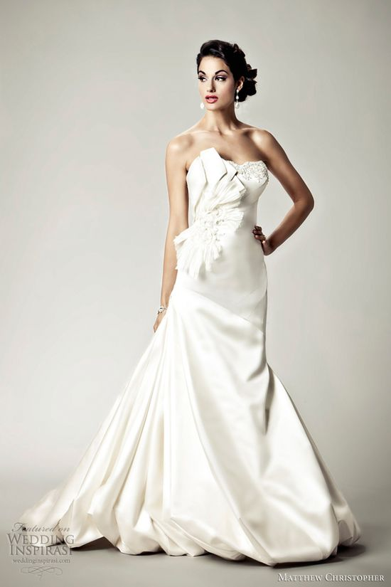 Matthew Christopher Wedding Dresses 2012