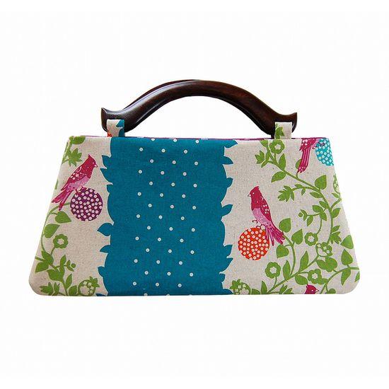 Spring birds handbag