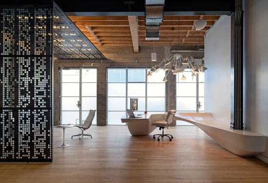 Giant Pixel Office by Studio O A