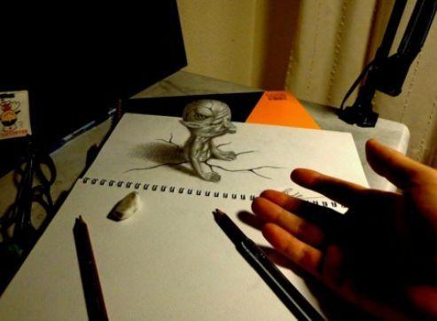 3-D Art By Japanese Artist Nagai Hideyuki.