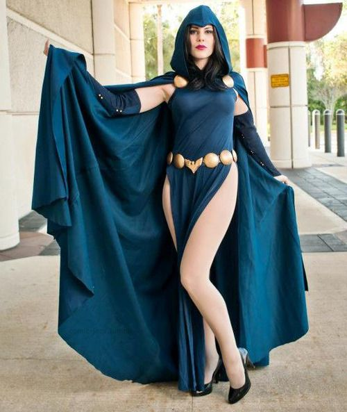 Raven cosplay by by Gillykins -