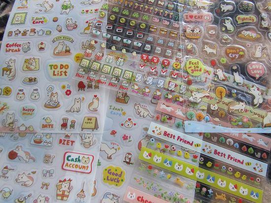 Korean stickers CUTE CAT