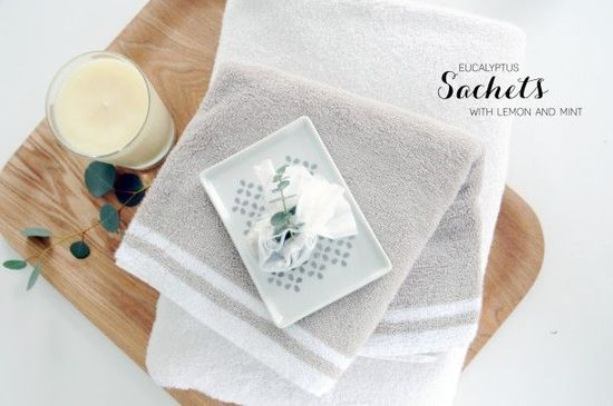 Hand Made: Eucalyptus Bath Sachets