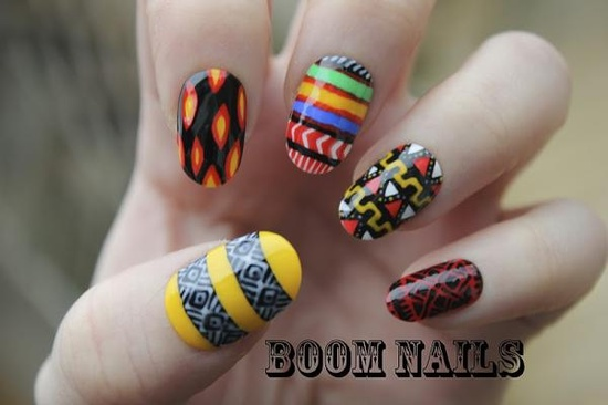 Nails by @Emma Boom        Are your nails more styled than your outfit? Do you have more art on your fingertips than your walls? Is your stash of polish taking over every cupboard in your house? Sounds like you could have an Obsessive Fashion Disorder.     Email us a picture of your nail designs to mailto:OFD@asos.com and the coolest, craziest and most creative pics will be to be diagnosed with OFD will be posted on the ASOS Pinterest.