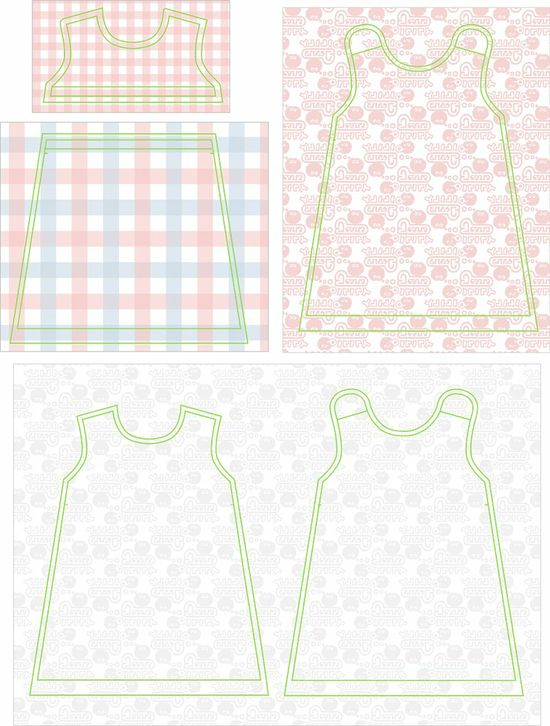 small dreamfactory: Free sewing tutorial and pattern Dutch baby dress (4 different sizes)