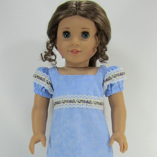 18 Inch Doll Clothes for American Girl Dolls - A Ball Gown for Caroline or Josefina.