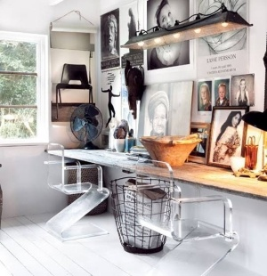 vintage modern home office design ideas by Decoholic