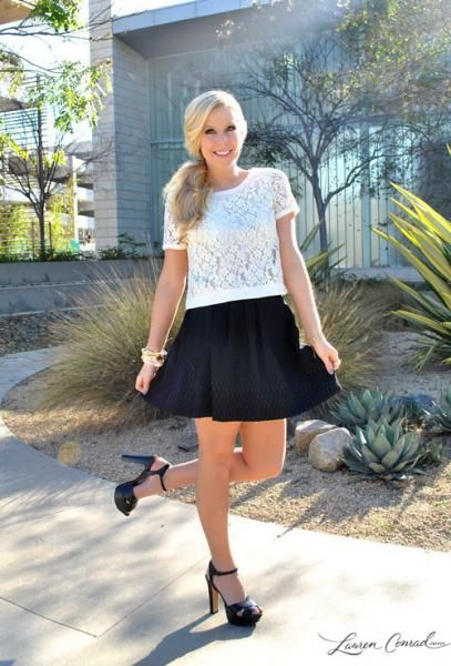 Dinner Date Night Outfit #laurenconrad