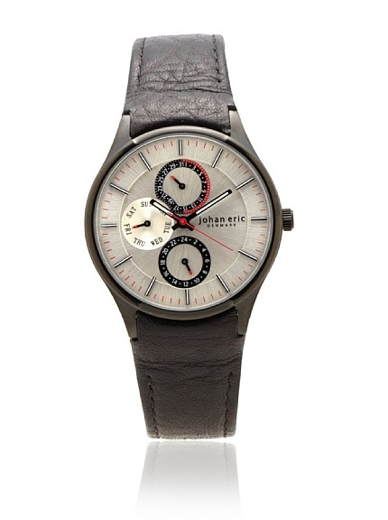 johan eric denmark men's watch, leather band. It was probably worn by Marvel's Captain America..