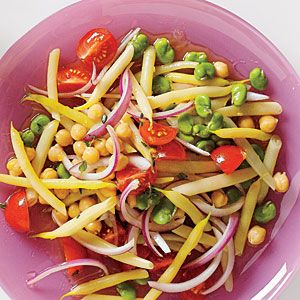 6 Barbecue Side Dishes | Summer Bean Salad | CookingLight.com
