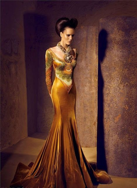 #Couture Gown #Color #Gorgeous!