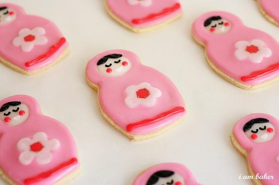 babushka cookies, #cookie