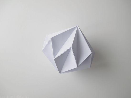 origami paper diamonds tutorial