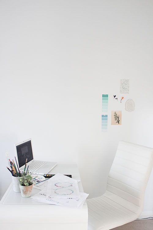 work here • via design°sponge