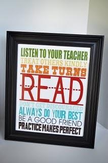 Printable teacher gift