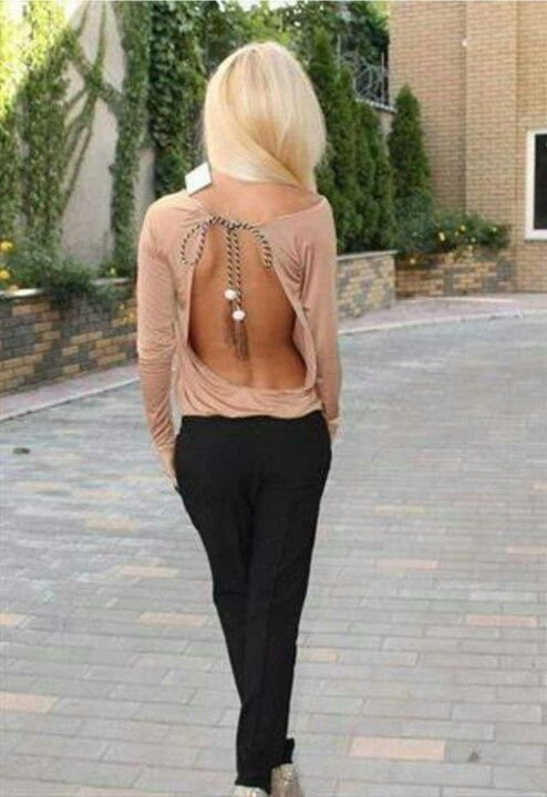 Backless ?
