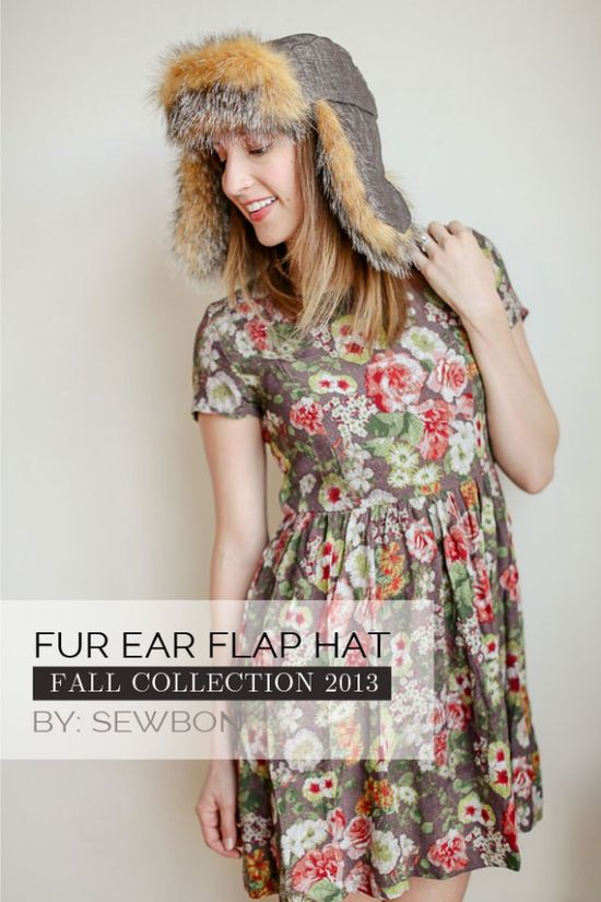 Ear Flap Hat - 13 Fun DIY Fashion Projects