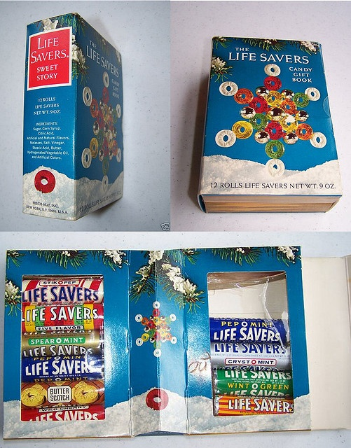 Life Savers 1960's Sweet Storybook. I got these many times in a Christmas party swap in school.