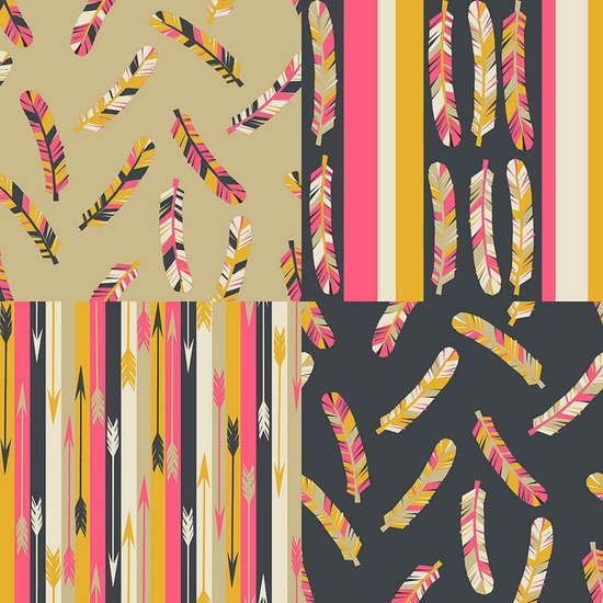 I Love everything about these patterns by @Andrea / FICTILIS Lauren!