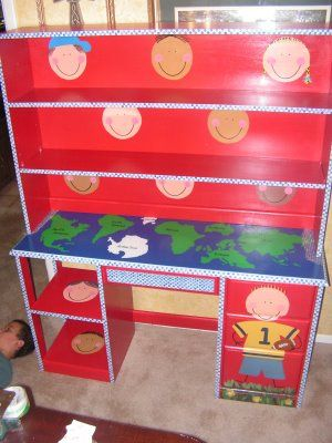 painted kids furniture inspiration
