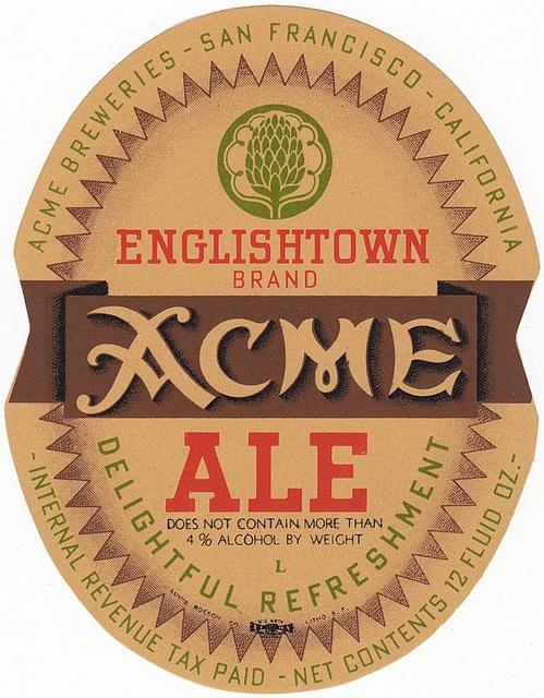 Acme Englishtown Ale