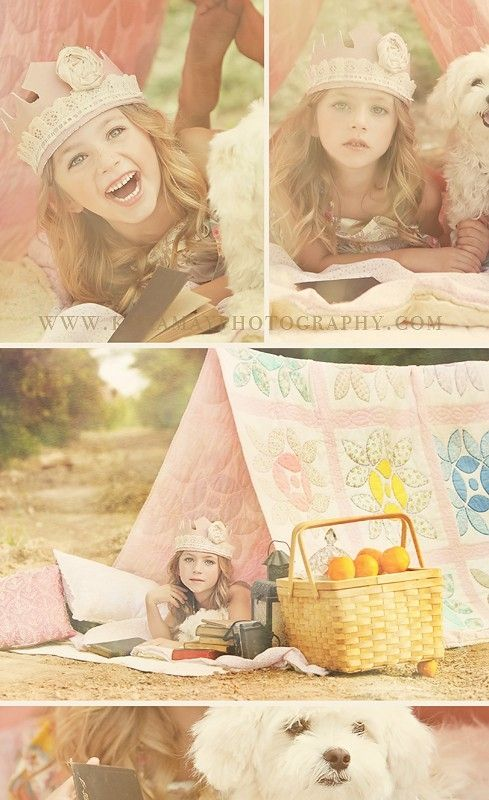 Little girl photography session .  Cute with a few less props. Love this session!!