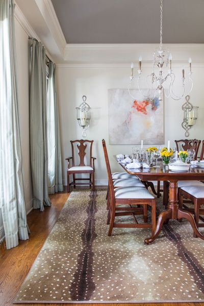 Dining room - Interior design Valorie Hart