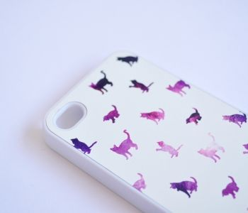Galaxy Cat iPhone Case - Meow!