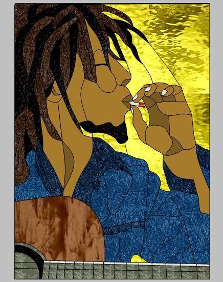 Bob Marley by Wendy'
