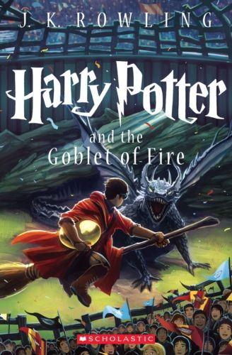 New Harry Potter and the Goblet of Fire book cover