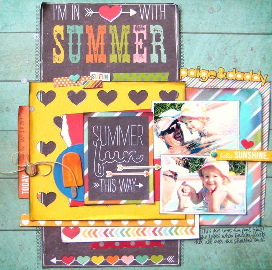 Summer Fun This Way (Simple Stories) - Scrapbook.com