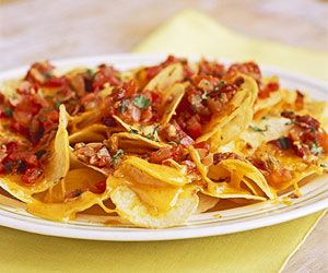 Potato Chip Nachos (with Bacon)