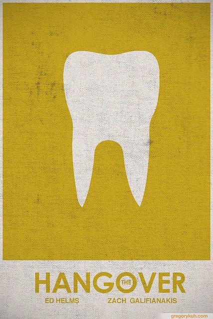 Hangover #retro #minimalist #movie #poster