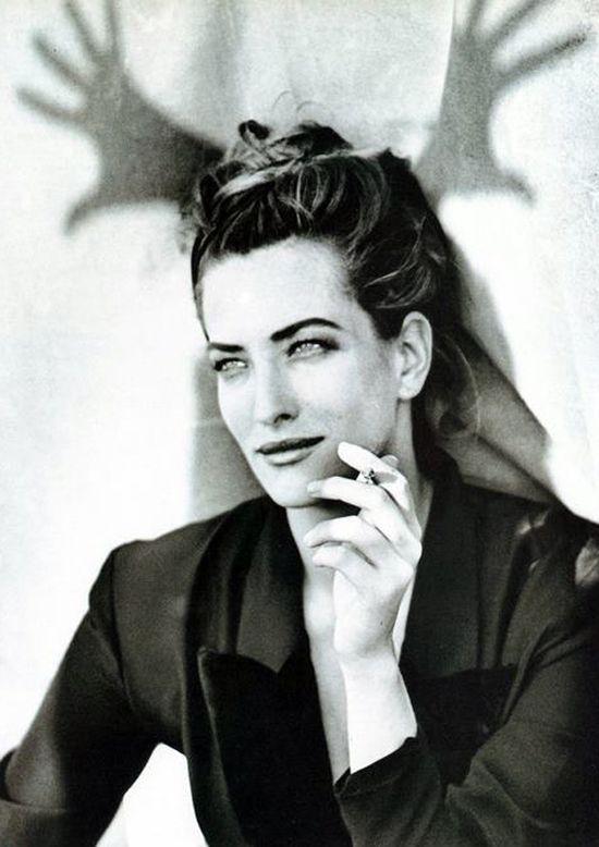 Tatjana Patitz by Lindbergh.