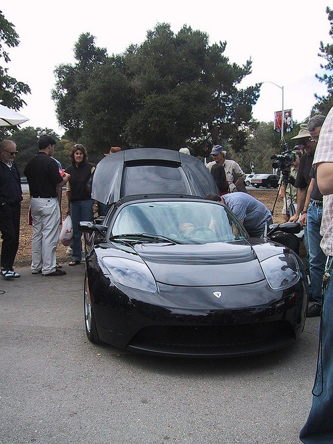 Tesla electric sports car