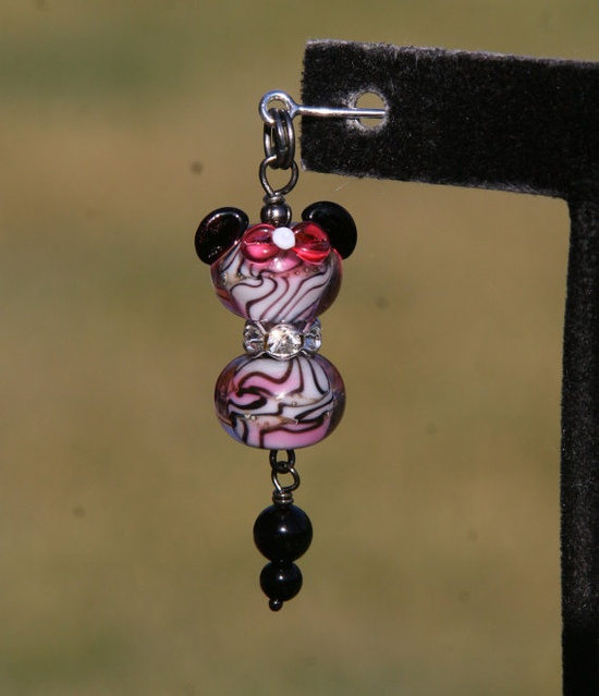 Pink Wild Animal Print Disney Inspired Minnie Mouse by chuckhljal, $30.00