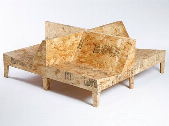 Recycled Furniture Made from Undesirable Materials designed by Chris Rucker available at Property Furniture