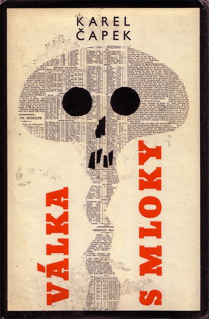 Czechoslovak book cover (1965)  Cover, binding and typography by Václav Bláha  Illustrations by Theodor Rotrekl