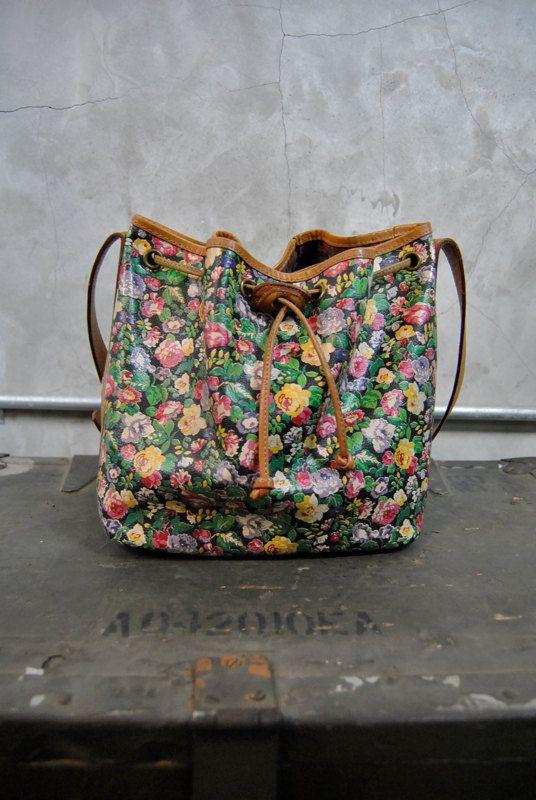 Flower bucket bag