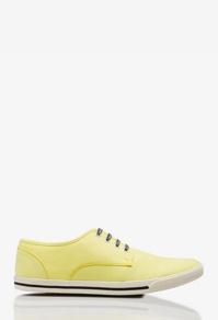 żółte trampki