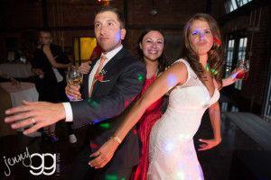 dancing at golden gardens wedding by jenny gg