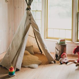Simple no sew teepee DIY!