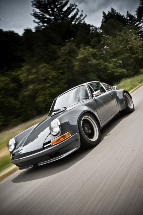 Perfect 911 Restoration & Modifications ideas. I love the look of this car!