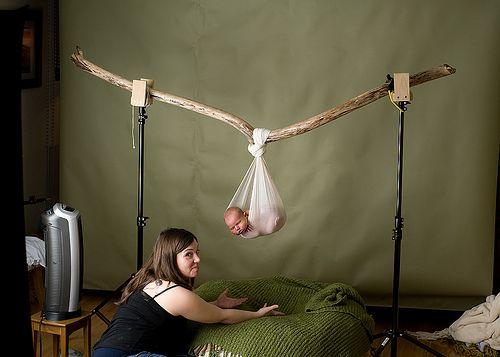 Newborn setup.